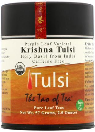 The Tao of Tea, Чай из пурпурных листьев, Кришна тулси, без ко...