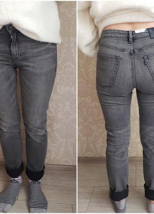 Levi's made & crafted серые новые джинсы скинни w29 levis