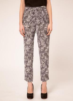 Iro paris оригинал дизайнерские шелковые брюки штаны