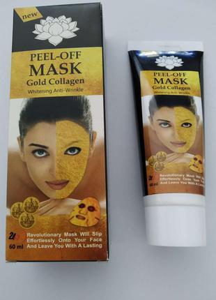 Peel-Off Mask - Маска-пленка с золотом и коллагеном (Пил Оф Ма...