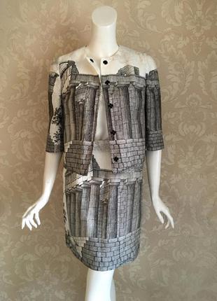 Dolce and gabbana оригинал италия дизайнерский льняной костюм ...