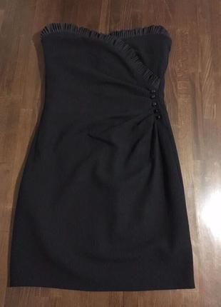 Paul & joe paris оригинал черное вечернее платье celine balenc...
