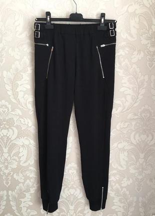 The kooples черные спортивные брюки джогеры штаны