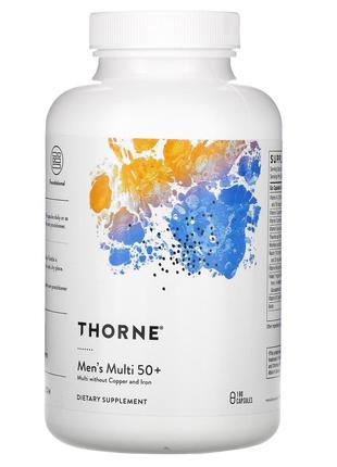 Thorne Research, мультивитамины для мужчин старше 50 лет, 180 ...