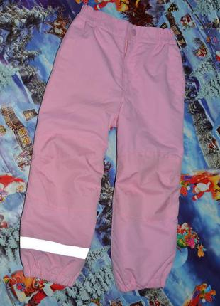 Термо штаны для девочки h&m 110см
