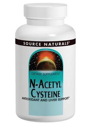 Source Naturals, N-ацетилцистеин, 600 мг, 120 шт., официальный...
