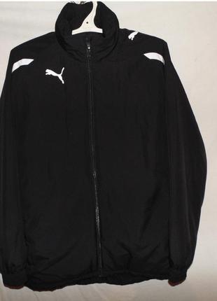 Куртка зимняя утепленная синтапоном теплая puma оригинал новая...