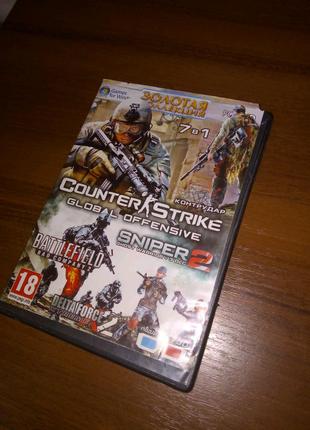Продам ігри COUNTER STRIKE / SNIPER 2 не дорого
