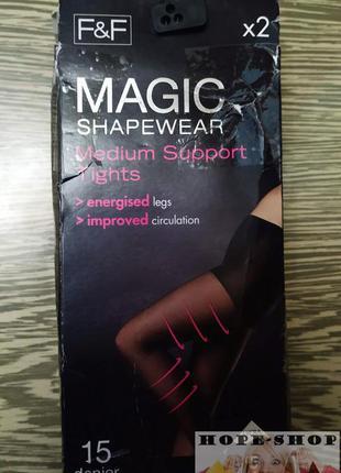 💞колготки f&f 15 denier magic shapewear medium support tights ...