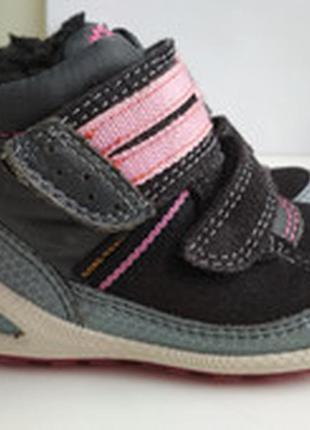 Демисезонные ботинки ecco biom gore tex р.21