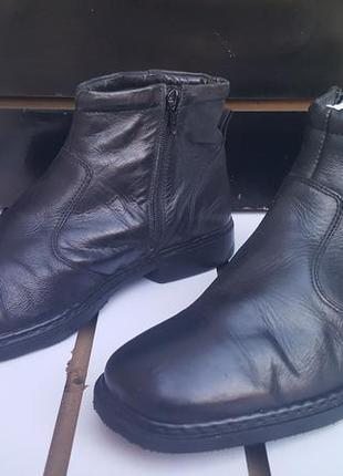 Мужские ботинки josef seibel 28см демо,натуральная кожа.супер ...