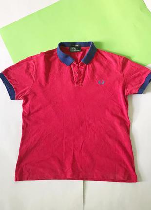 Поло рубашка футболка тенниска fred perry. размер л