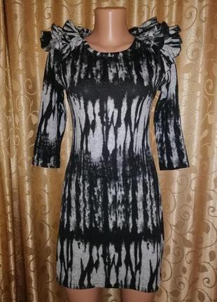🌺👗🌺стильное трикотажное короткое платье, туника lila🔥🔥🔥
