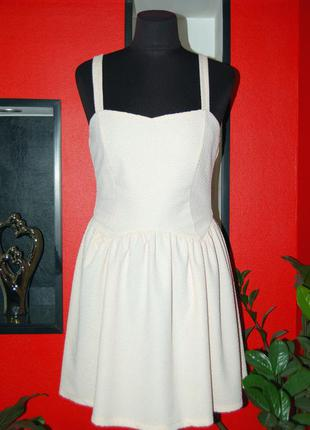 Topshop! женское летнее платье, сарафан нежного цвета, morocco