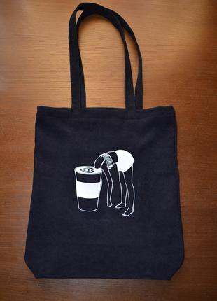 Стильна сумка-шопер