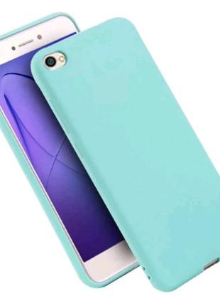 Чехол для Xiaomi Redmi Note 5A ( бирюзовый)