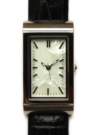 Pedre классические перламутровые часы из сша кожа мех. japan m...