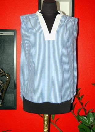 H&m logg! продам женскую летнюю маечку, футболку в полоску
