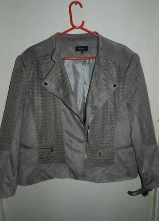 Шикарная,куртка-косуха,большого размера,bexleys