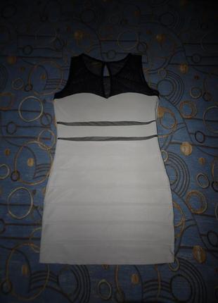Короткое красивое платье размер 46-48