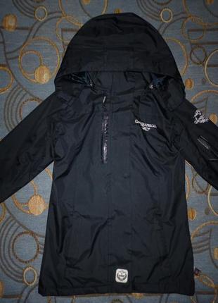 Фирменная куртка-ветровка  cool girl 7-8 лет