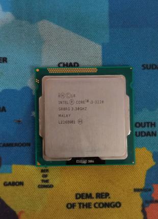 Процессор Intel Core i3-3220 3.3GHz/5GT/s/3Mb 55W Socket 1155