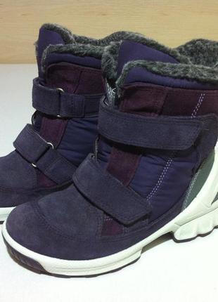 Зимние ❄️ сапоги , ботинки ecco biom с gore-tex ❄️размер 29-30...