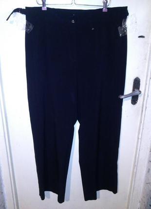 Супер-стрейч,повседневные,чёрные брюки,высокая посадка,большог...
