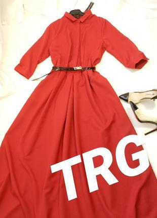 ✅ нереально красивое пышное платье с поясом ( без брошки)