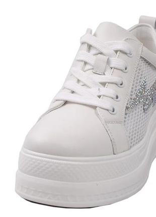 Стильные кроссовки на платформе ,berkonty  натуральная кожа, л...