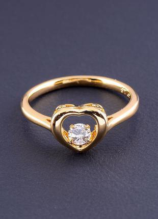 Кольцо 'xuping' фианит (позолота 18к) 0807530