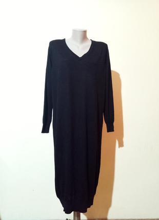 Брендовое платье с шерстью