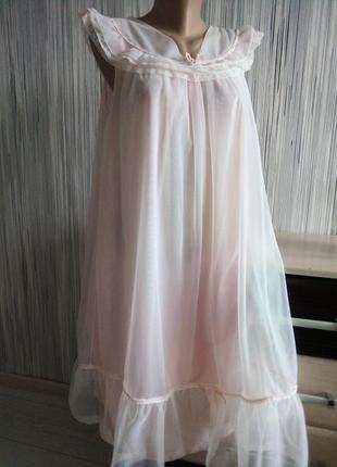 Нежная и романтичная пижама ночнушка
