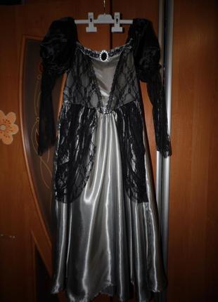 Карнавальное платье 12-13 лет