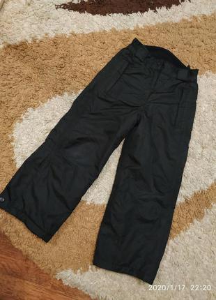 Брендовые лыжные термо- штаны alive на 5-6 лет (можно раньше)