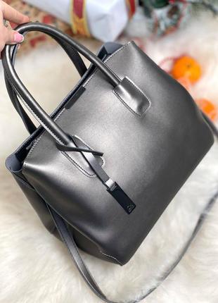 Сумка женская, сумка с длинной ручкой, сумка кожаная