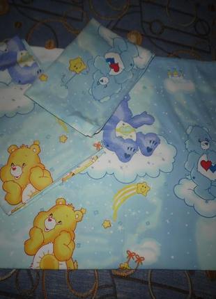 Детский набор постельного белья сатин