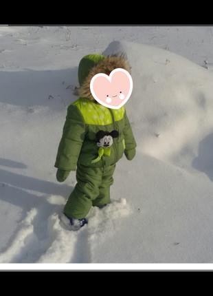 Дитячий комбінезон зимовий