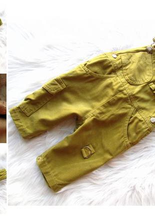 Крутой джинсовый полукомбинезон