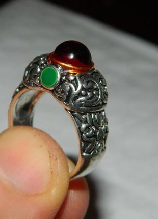 Кольцо серебро 925 пробы,винтаж