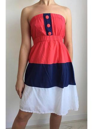 Сукня в полоску, плаття, платье.