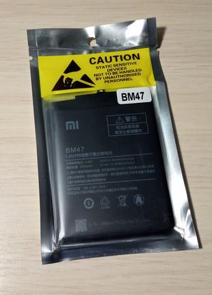 Аккумулятор батарейка Xiaomi BM47, Redmi 3, 3 PRO, 3S, 3X, 4X Ори