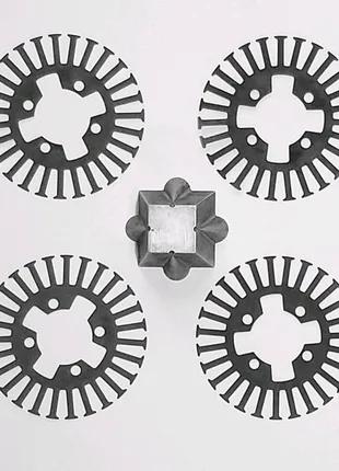 Электроэрозионная обработка резка проволокой 0,1 мм. и 0,25 мм.