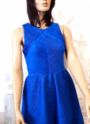 Стильное платье цвета электрик от topshop