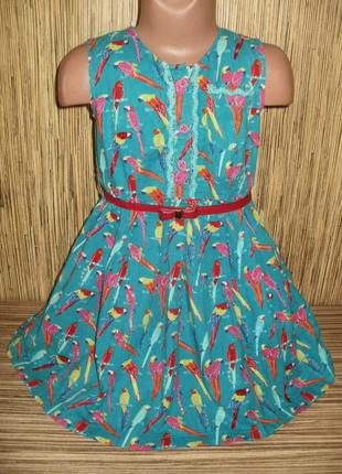 Платье на 5-6 лет