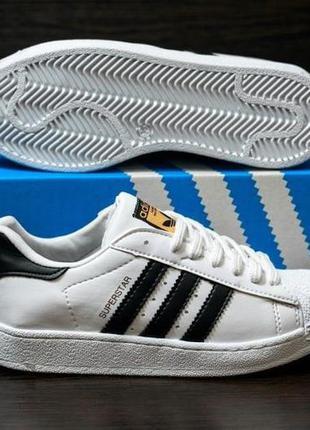 Шикарные женские кроссовки adidas superstar white 😍 {весна/ ле...