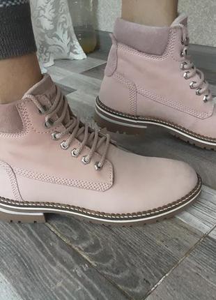 Стильные добротные ботинки landrover. кожа. 38,5-39р.