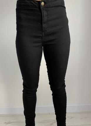 Чорні штани, женские штаны, черные брюки.