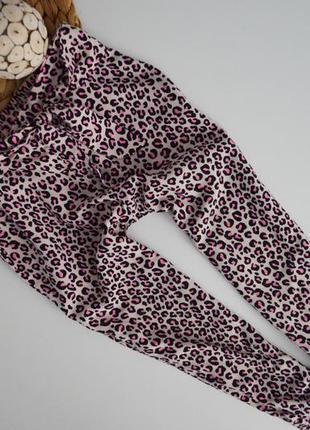 Легкие штанишки на 3-4г.вискоза
