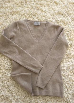Кашемировый базовый свитер 100%кашемир